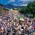 Saturdays in Hobart mean Salamanca Markets
